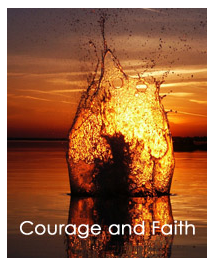 Courage and Faith